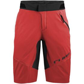 Cube Edge Pantalones cortos holgados Hombre, rojo/negro